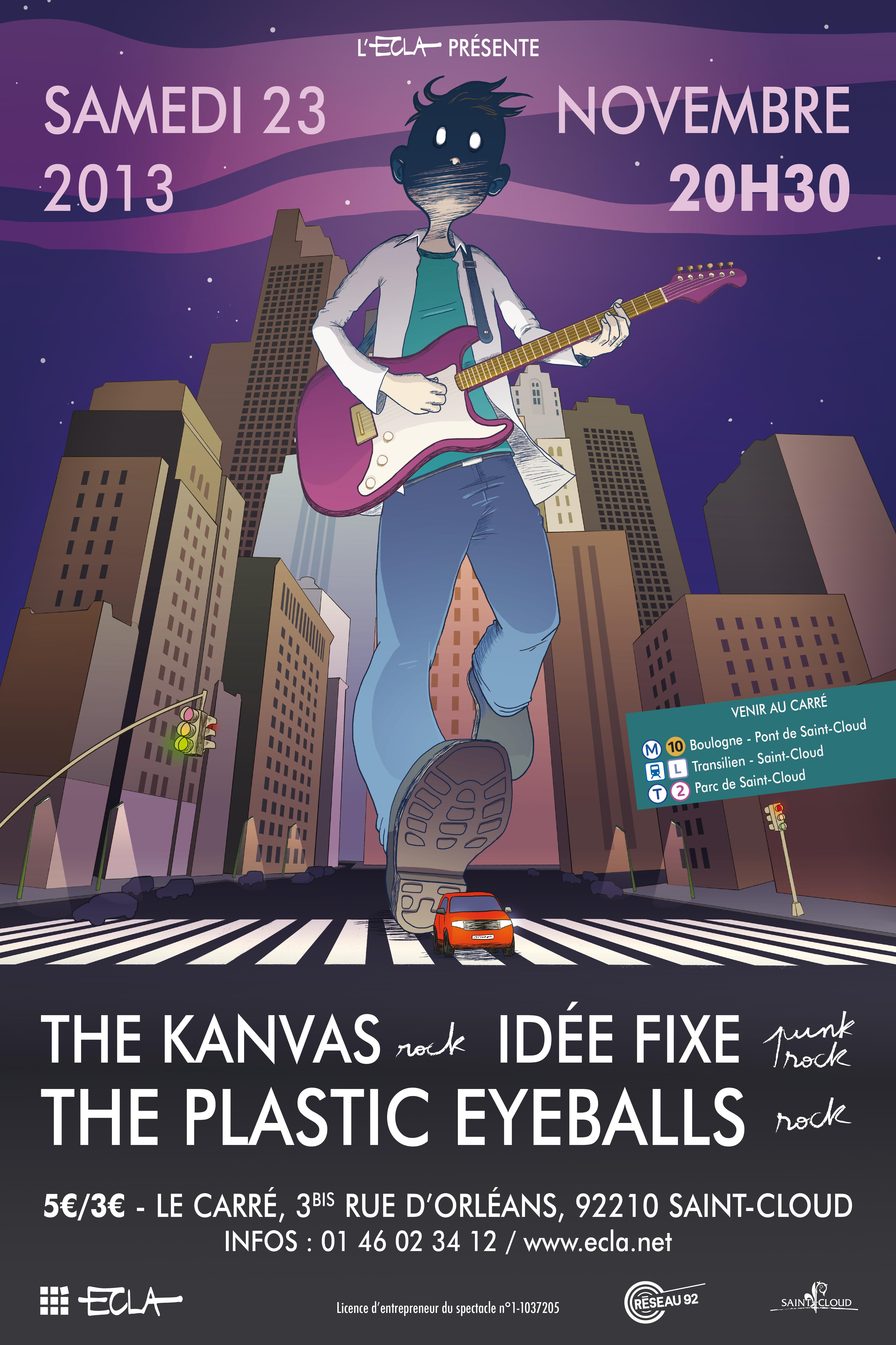 Affiche ECLA Concert 23 novembre