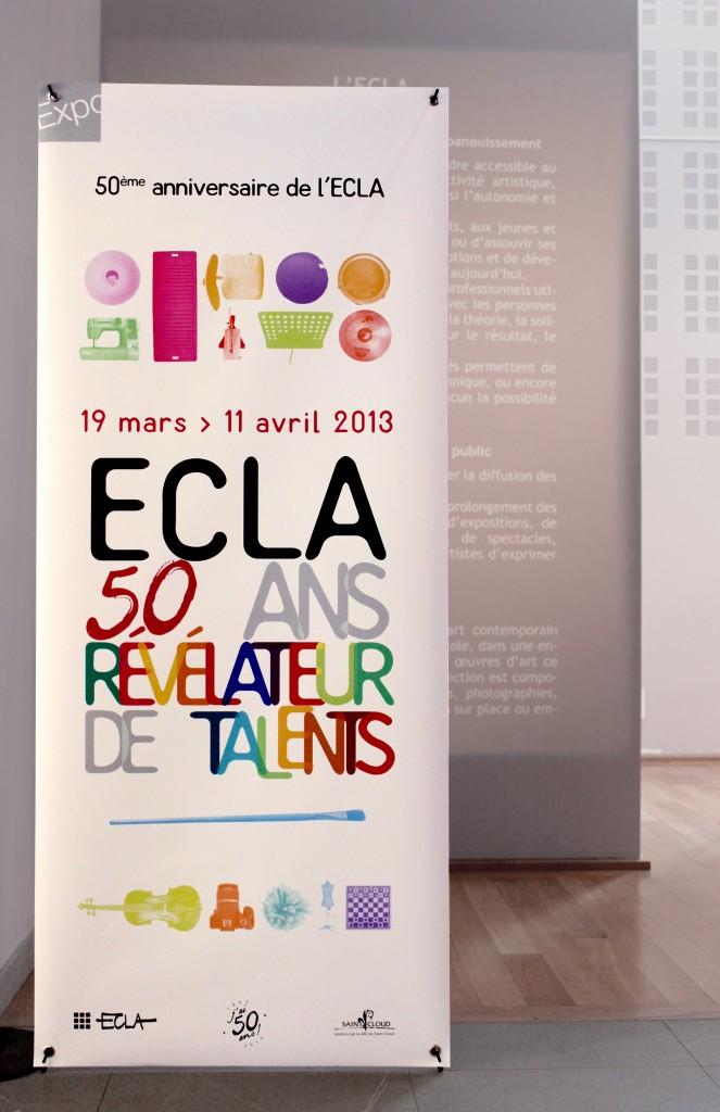 X banner ECLA 50 ans