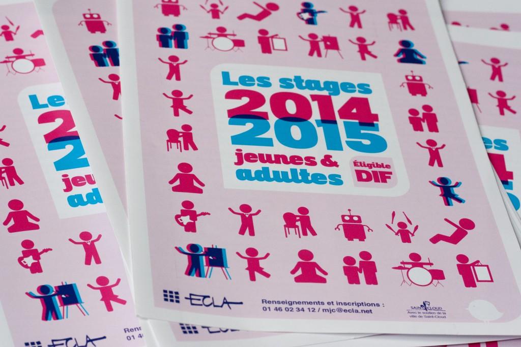 Dépliant stages ECLA Saison 2014 2015