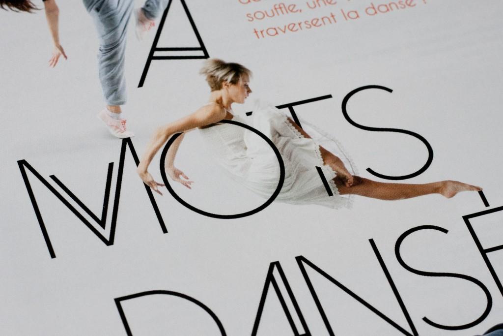 Détail flyer ECLA A mots dansés