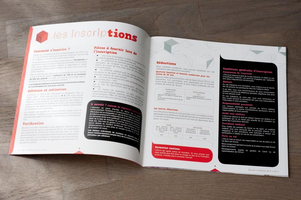Brochure ECLA 2013 pages 6 et 7