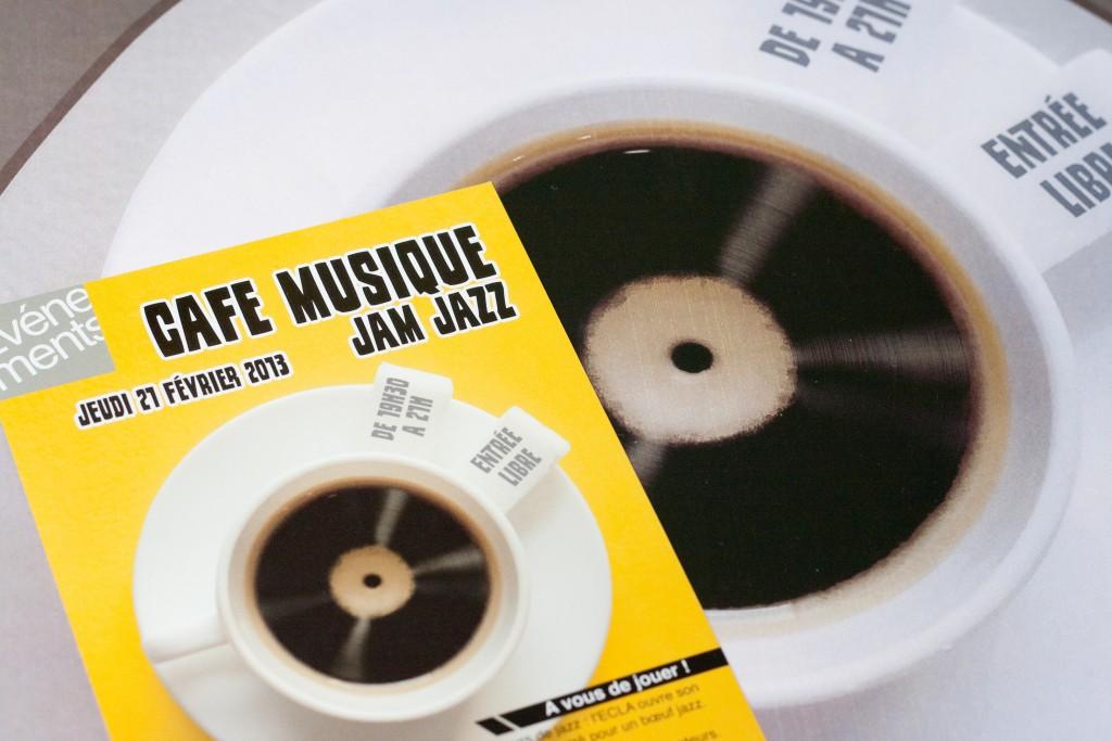Flyer ECLA Café musique
