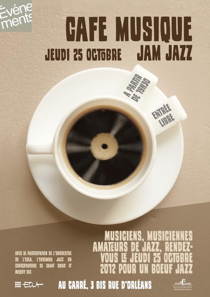 Affiche ECLA Café musique
